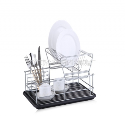 How to accurately reduce the residue of detergent in stainless steel dish rack